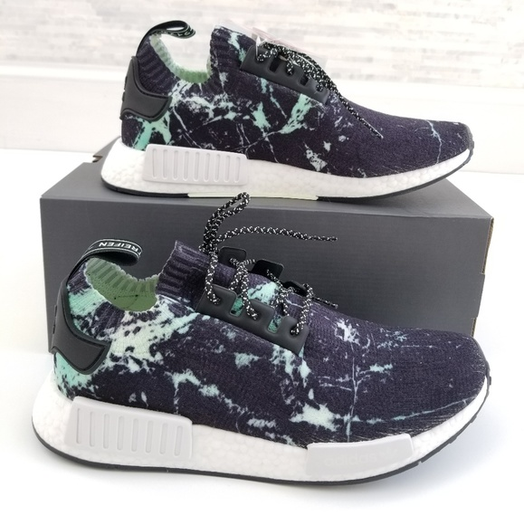 adidas Other - New ADIDAS NMD R1 PK Mint Marble Sneakers